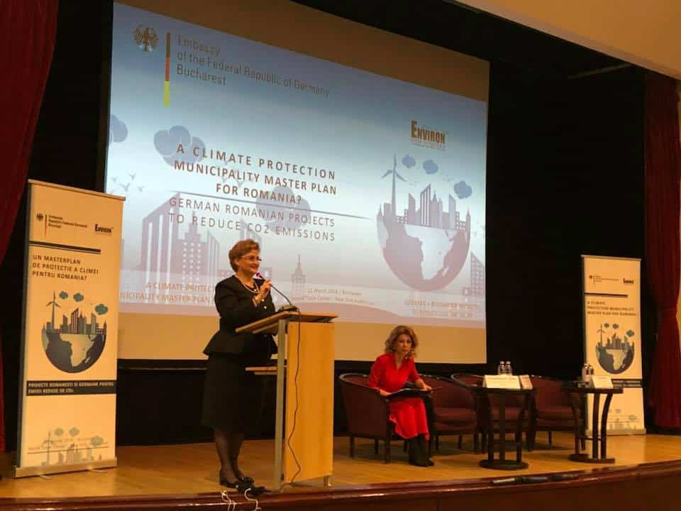 Conference On Effects Of Climate Change Organized By The German